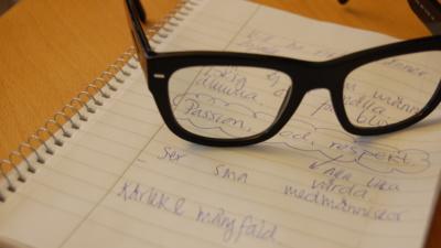 Jag älskar att möta människor som utmanar mig i intellektet - Karin, Ängelholm