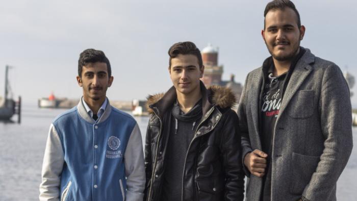 Sen ska vi bli ingenjörer – Mohammed, Helsingborg
