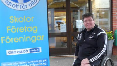Vi fick komma upp till regeringen och spela rullstolsbasket i Rosenbad - Pelle, Ängelholm