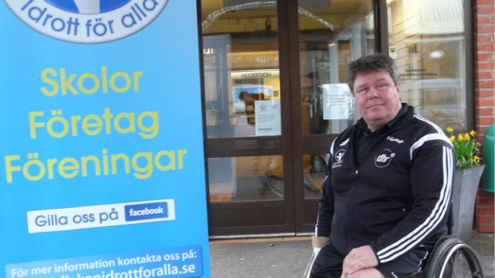 Vi fick komma upp till regeringen och spela rullstolsbasket i Rosenbad – Pelle, Ängelholm